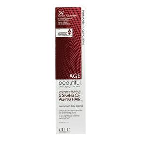 Tinte Permanente Anti Edad En Crema 3v Darkest Plum Brown