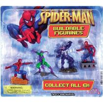 Display Original Spiderman Set 4 Figuras En Caja Colección