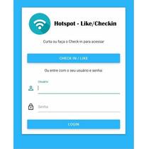 Hotspot Mikrotik - Login Social Facebook (checkin / Like)