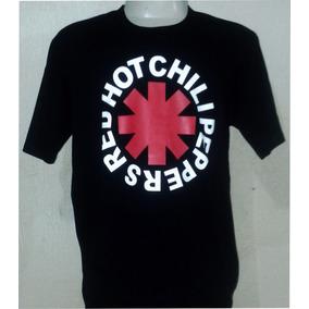 Camiseta Camisas Bandas Rock - Red Hot Chili Peppers