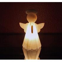 Lámpara De Buró Angelito (hecha En Ónix)
