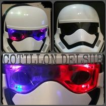 Mascara Star Wars Cotillón Disfraz Careta Fiesta Luminosa