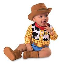 Disfraz Woody Bebe Disney Store Traje Vaquero Toy Story