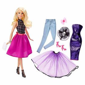 Barbie Muitos Looks Mattel - + De 20 Combinações Estilosas