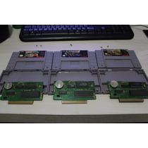3 Jogos Trilogia Donkey Kong 1 2 3 Super Nintendo Originais