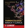 Farmacologia Basica Y Clinica; Katzung Bertram Envío Gratis