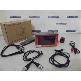 Monitor Testador Profissional De Câmeras A Hd Tvi Cvi Utp