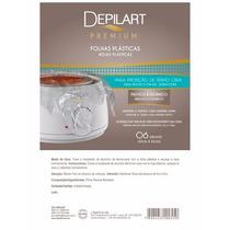 60 Folhas Plásticas Premium P/ Termo-cera Depilart - 10pac.