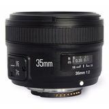 Lente Yongnuo 35mm Para Nikon Envio Gratis