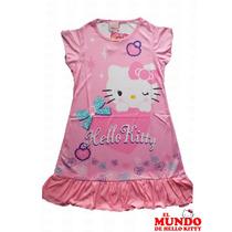 Hermoso Camison / Vestido Para Nena De Hello Kitty