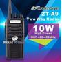 Radio Zastone 10 Watts Uhf Longo Alcance