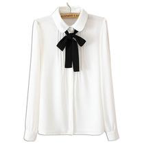 Camisa Feminina C/ Laço 38 40 42 44 46 48 50 52 54 56 58