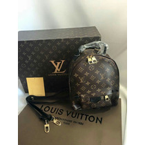 Mochila Louis Vuitton Palm Springs Y Cartera Gratis