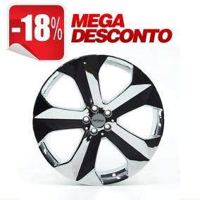 Jogo De Rodas Aro 20 Presenza Pj18 5x100 Cromada