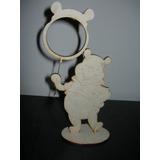 Portaretratos Winnie Pooh En Fibrofacil Pack X10