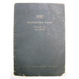 Antiguo Manual Instrucciones Original Auto Aleman Goliath