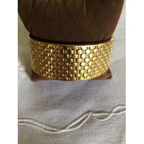 Pulseira Feminina Italiana Dourada ( Tipo Escrava )