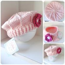 Boina Tejida Al Crochet