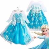 Fantasia Vestido Elsa, Frozen Pronta Entrega!