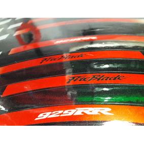 Kit Calcos Llantas Cbr Honda Reflectivos Excelentes