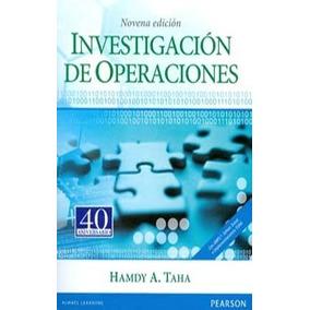 Investigación De Operaciones Autor Hamdy A. Taha