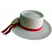 Sombrero Cubano De Jipi (panamá) Ala Gde. Col. Natural Lbf