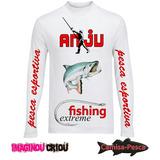 Camisa De Pesca Masculina E Feminina
