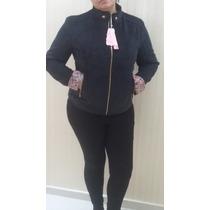 Jaqueta Feminina Veludo Plus Size Queima De Estoque