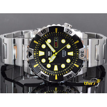 Relógio Seiko 5 Sport Snzj15k1 Automatico 23 Jewels Original