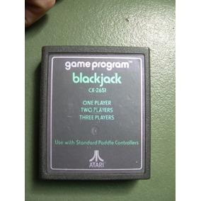 Cartucho Video Juego Atari 2600 Black Jack