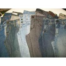 Lote 4 Calças (42) Semi Novas Roupas Usadas Jeans Feminino