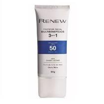 Renew Multi Benefícios 3 Em 1 Protetor Facial Fps 50