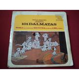 101 Dalmatas Ep 7´ 45 Rpm Cuento Y Disco