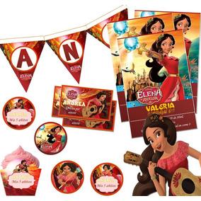 Kit Imprimible Princesa Elena De Avalor Candy Bar Invitacion