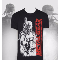 Envío Gratis! | Playera Monster Metal Gear Solid.