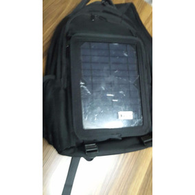 Mochila Con Panel Solar Desmontable