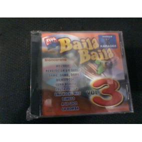 Cd Baila Baila 2000 Vol 3 Perdido En Un Barco Karaoke Dimelo