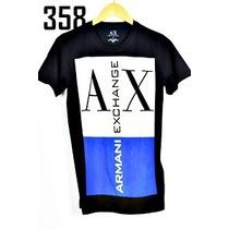 Lote Camisas Ax Armani Novos Modelos
