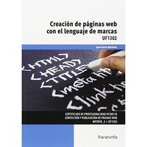 Creación De Páginas Web Con El Lenguaje De Marc Envío Gratis