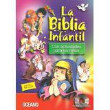 Biblia Infantil Oceano 1 Libro Y 2 Cds