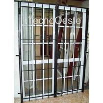 Aberturas Puerta Ventana Balcon 180x200 Repartido Con Reja