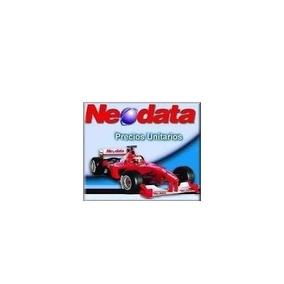 Neodata 2009 Precios Unitarios Con 7000 Matrices May2017.