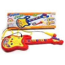 Guitarra Electronica Microfono Luz Canciones Sonidos