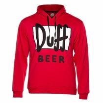 Sudadera Duff Roja Original 100% Envio Gratis