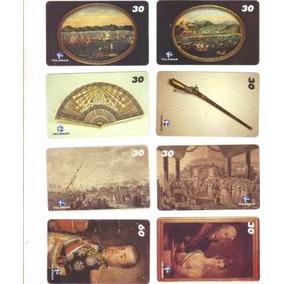 Loucura Série Museu Histórico Nacional (8 Cartões) Telemar