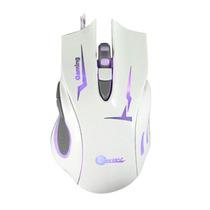 Mouse Gamer Jeway 6 Botones Jm-1223 2400 Dpi Blanco