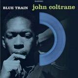 John Coltrane Blue Train Vinilo Azul Lp 180g Nuevo Importado