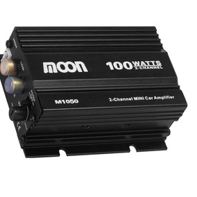 Potencia Para Auto/moto Moon M1050 2 Canales 100w Rms 12v