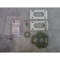 Jogo Kit De Juntas Do Carburador Weber Duplo Fiat 147/uno