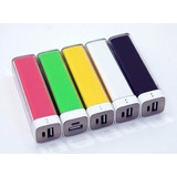 Power Bank Portátil Usb Carga Batería Celular Tablet Ipod